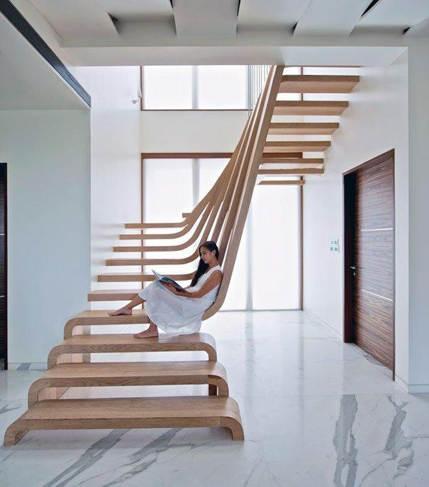 20 Diseños de escaleras extraordinarias que deberías conocer ...