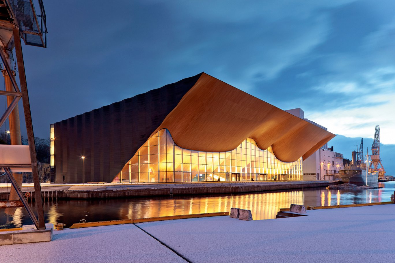 Kilden Theatre and Concert Hall Kristiansand ala Architects