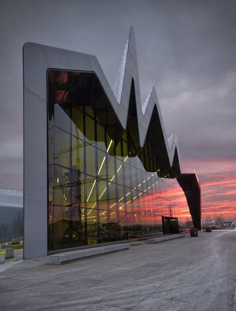 Riverside Museum Glasgow Scotland