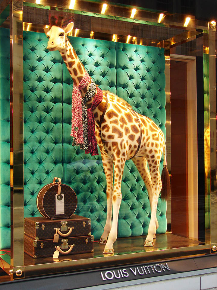 Louis Vuitton The Collectors Windows 2011 spring