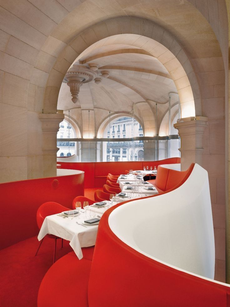 LOpera Restaurant Paris by Studio Odile Decq